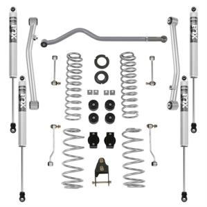 Rubicon Express Part JL7102FP - Rubicon Express 3.5 Inch Standard Coil Lift Kit with Fox Performance Shocks - JL7102FP-SLVMSWS-P03