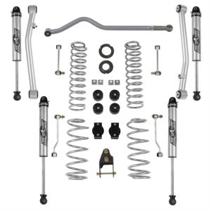 Rubicon Express Part JL7102NR - Rubicon Express 3.5 Inch Standard Coil Lift Kit with Non Resi Monotube Shocks - JL7102NR-SLVMSWS-P02