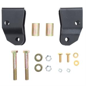 Rubicon Express Part RE2008 - Rubicon Express Front Shock Extensions - RE2008-SLVMSWS-P03
