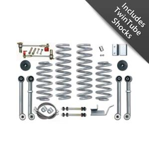 Rubicon Express Part RE8003T - Rubicon Express 3.5 Inch Super-Flex Short Arm Lift Kit with Twin Tube Shocks - RE8003T-WS2